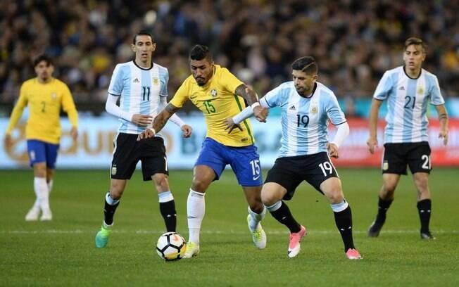 Brasil e Argentina se enfrentaram na Austrália