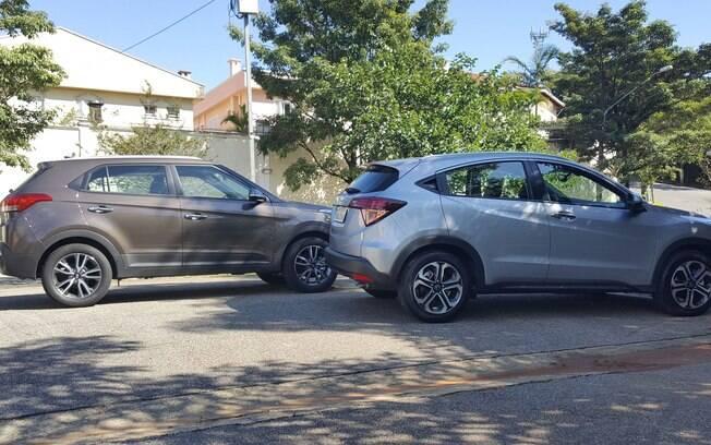 Hyundai Creta versus Honda HR-V