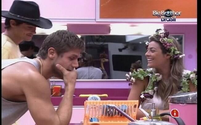 Jonas firma que não quer ficar novamente com Renata