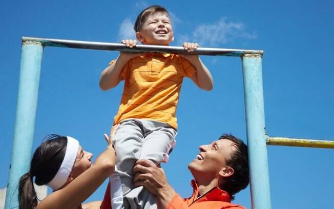 O segredo para envolver as crianças é tornar a atividade física divertida