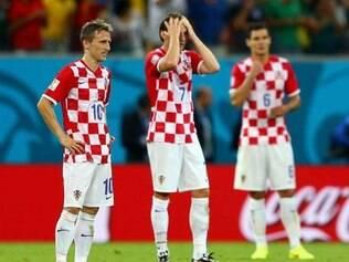 Boas expectativas cercavam a Croácia, mas seleção decepcionou na Copa do Mundo