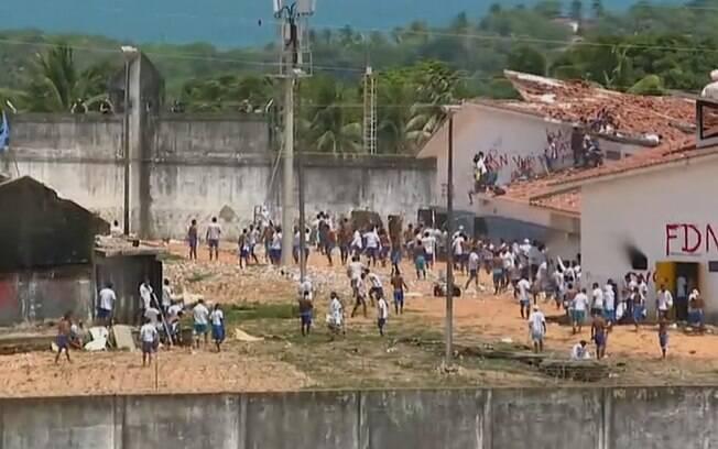 Presidiários de Alcaçuz voltaram a entrar em confronto nesta quinta-feira (19), depois de 26 mortos no fim de semana