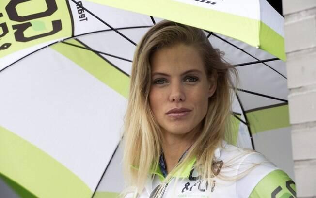 Mais uma grid girl na MotoGP na Holanda
