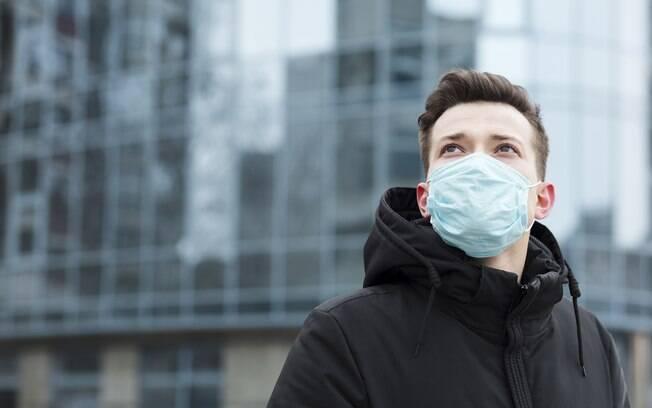Só retire sua máscara quando estiver em casa ou no hotel