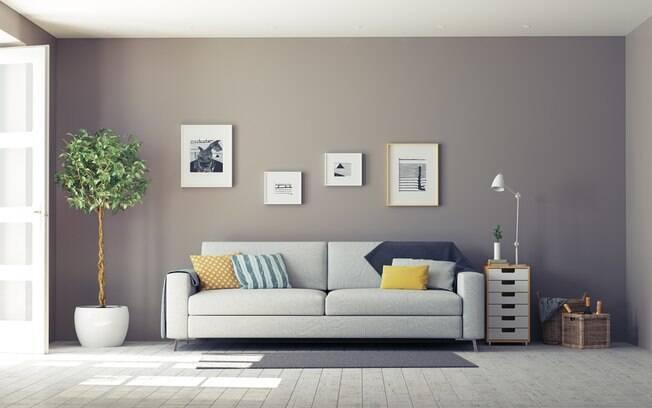 Mesmo em um imóvel alugado é possível deixar o lar com a personalidade dos moradores; veja dicas que podem ajudar