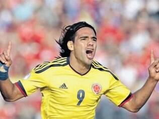 Um dos melhores atacantes do mundo, Falcao é uma das grandes esperanças da Colômbia
