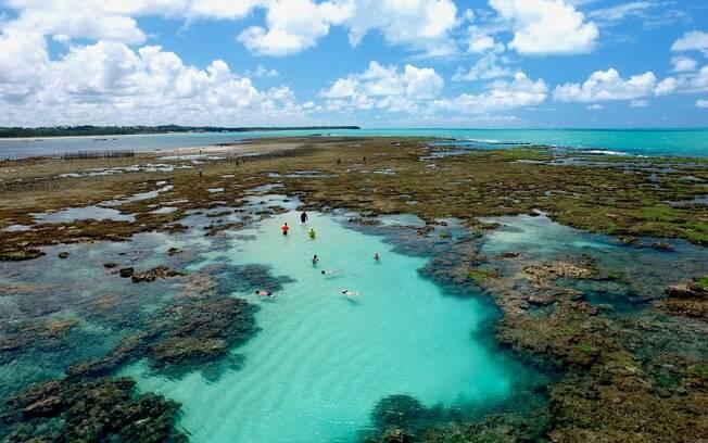 As piscinas naturais do Pratagy Beach são as mais belas e tranquilas de Maceió e são ideias para quem quer relaxar