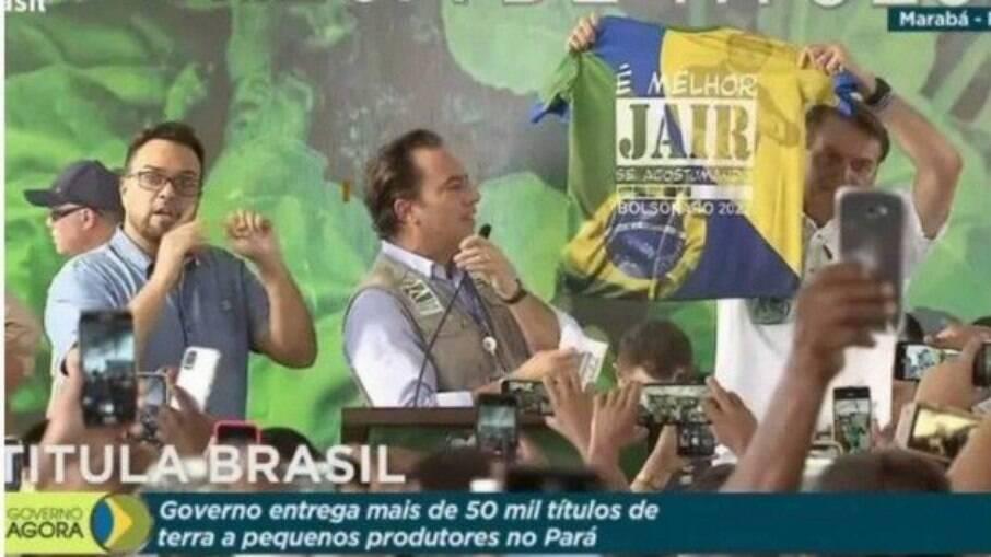 Ministério Público pede ao TSE aplicação de multa a Bolsonaro
