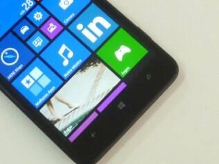 Tela do Lumia 1320 tem resolução HD