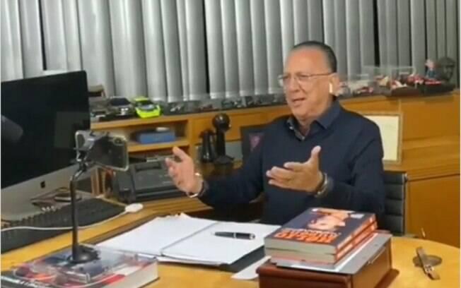 Galvão se solidariza com PC Oliveira após fala de racista: 'Coisa nojenta'