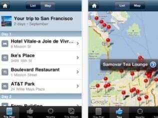 Aplicativo Trippy permite visualizar roteiro em mapa e memorizar endereços e reservas