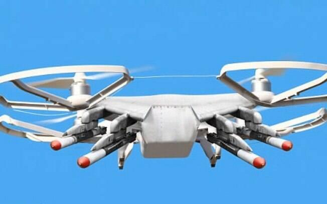 Sete drones com câmeras de alta definição vão transmitir imagens para o posto da Polícia Rodoviária Federal do RJ