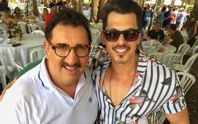 Ratinho e Marcos Vidal, que integra o elenco do quadro