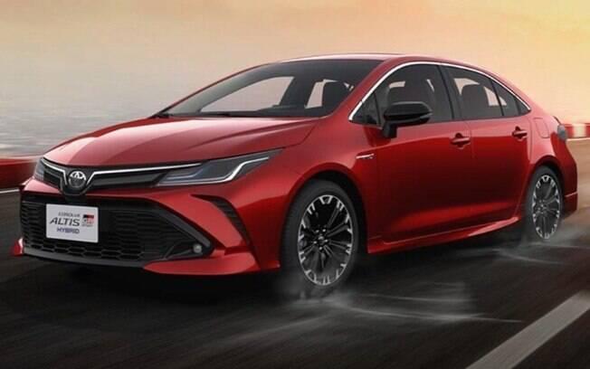 Toyota Corolla GR Sport: nova versão esportiva será bem-vinda ao Brasil, onde o sedã sempre fez bastante sucesso