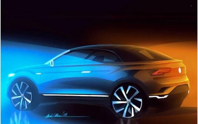 O SUV conceitual da VW que será baseado no T-Roc e terá somente o Range Rover Evoque Cabriolet como rival