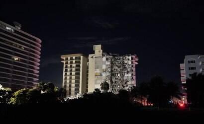 Edifício de luxo de 12 andares desmorona em Miami Beach