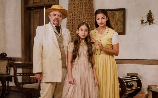 Nos Tempos do Imperador: Dolores dá a volta no pai, se encontra escondida com Pilar e faz pedido aflito