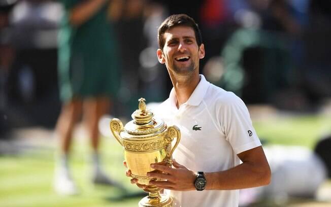 Djokovic chegou a ser o número 22 do mundo depois de fazer um 2017 ruim, mas este ano ganhou dois Grand Slams e voltou ao topo do ranking