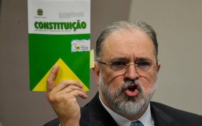 Aras respondeu o ex-ministro Sergio Moro, que disse ter se sentido 'intimidado' pela abertura de inquérito