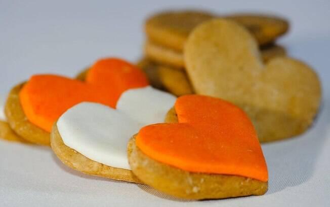 Foto da receita Biscoitos de mel pronta.