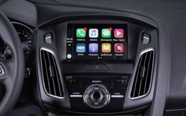 Mais rápido e intuitivo, o sistema multimídia Sync 3 do Ford Focus é mais agradável de usar que as gerações anteriores