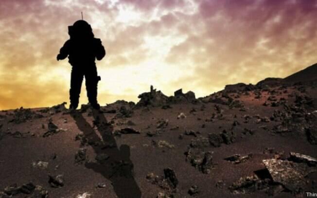 Uma viagem para Marte teria a duração de pelo menos nove meses