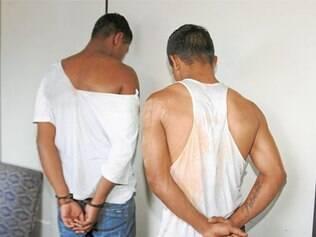 Dois dos suspeitos foram detidos no carro da vítima do sequestro