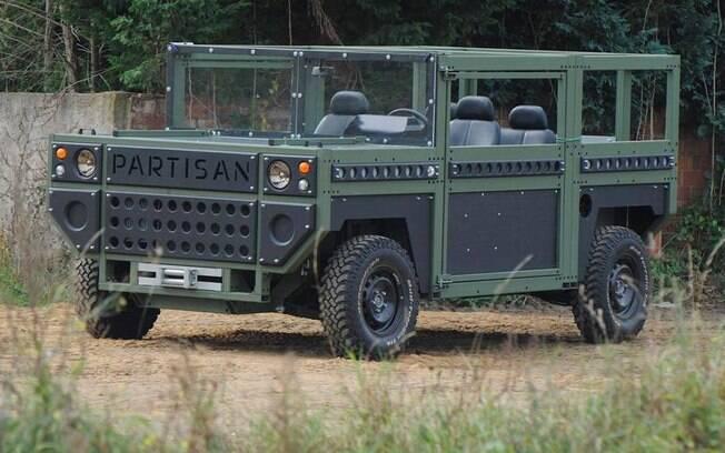 Partisan One: utilitário militar pode ter visual estranho, mas preza pela eficiência de uso no dia a dia