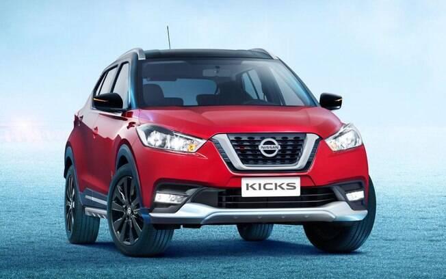Nissan Kicks UEFA terá uma série de diferenças em relação às demais versões do SUV compacto feito no Brasil