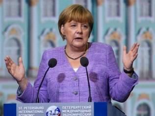 Chanceler alemã Angela Merkel  21/ 6 /2013