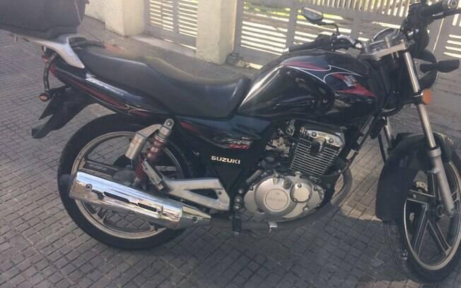 Operação Comunidade Moinho - Motocicleta furtada foi recuperada