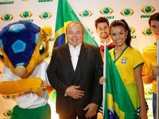 Luciano do Valle era o narrador da Band na Copa do Mundo deste ano