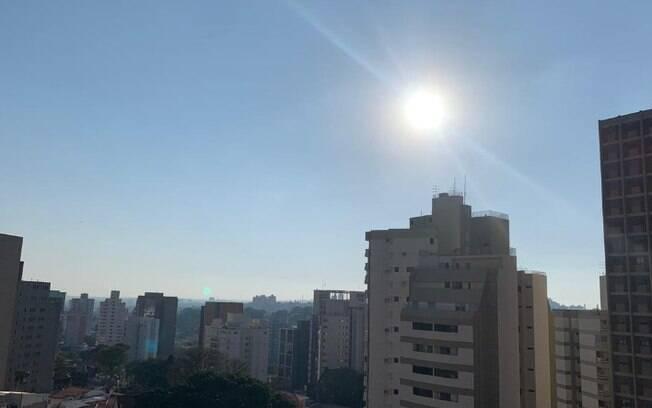 Passagem de nova frente fria traz nebulosidade neste domingo, diz Cepagri