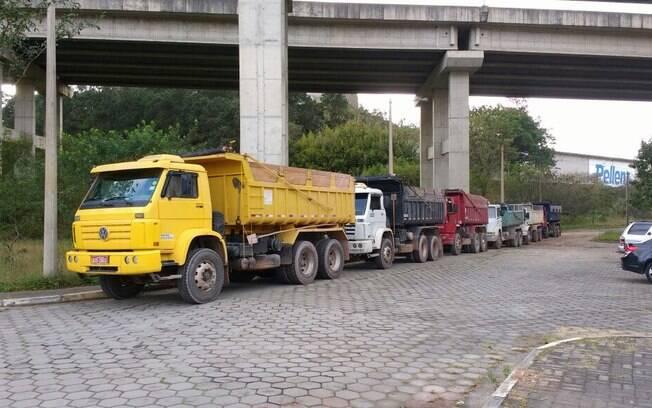 Todos os veículos foram para o Horto Florestal