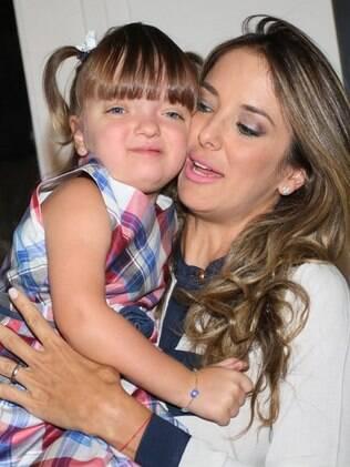 Rafaella Justus e Ticiane Pinheiro no evento dessa quinta-feira (22)