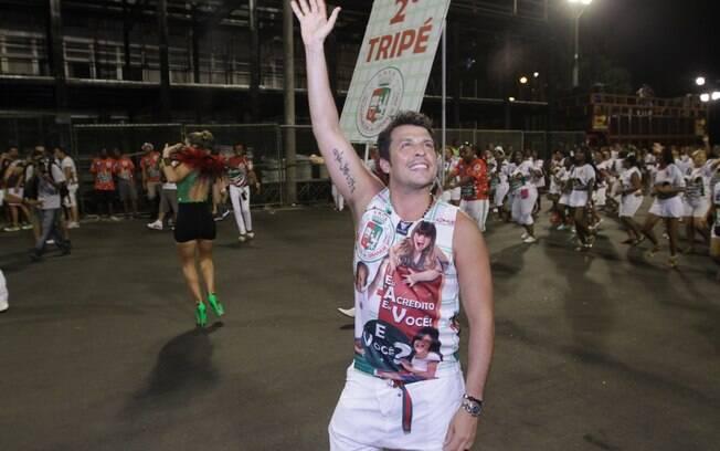 Wellington Muniz: homenageado pela Grande Rio em 2012