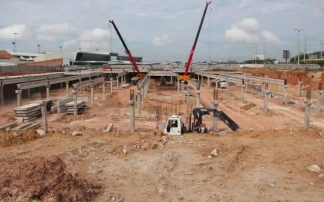 Ministério Público do Trabalho vistoriou as obras no Aeroporto de Manaus.  Foto  Agência Pública 86be82a24c