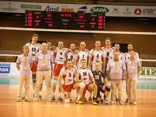 Equipe completa do Belogorie Belgorod
