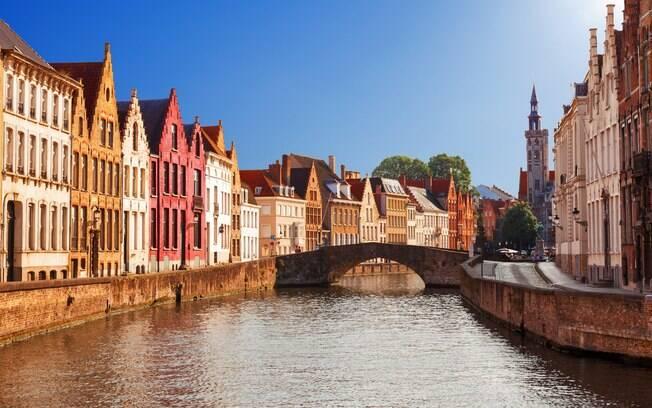 Bruges é uma das cidades que te fazem sentir no período medieval