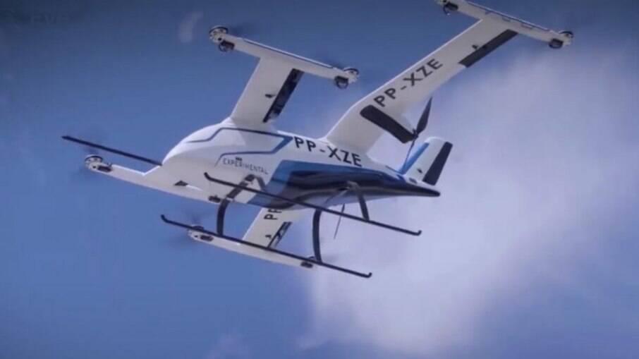 Embraer revela táxi aéreo desenvolvido no Brasil