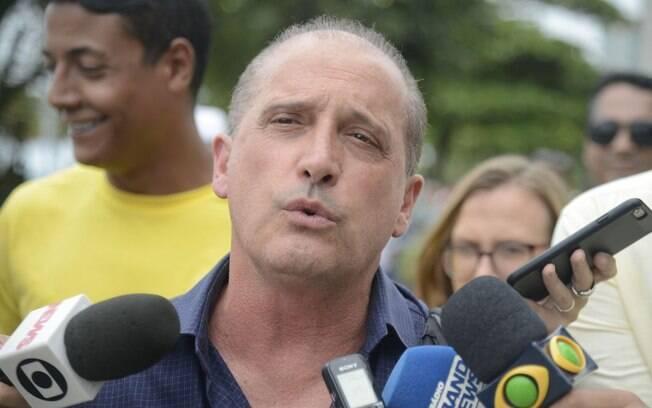 Onyx Lorenzoni anunciou equipe que atuará no governo de transição de Jair Bolsonaro
