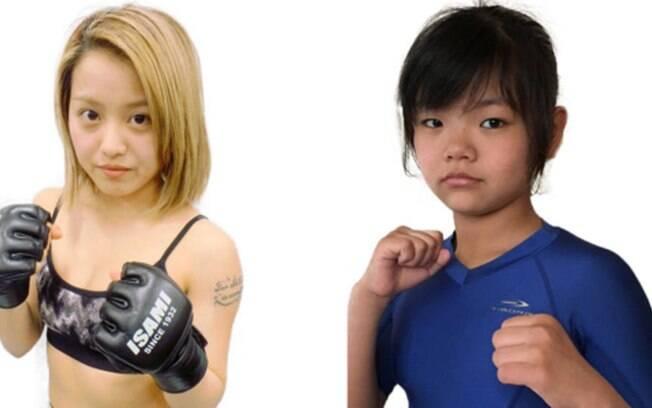 Momoko Yamasaki, de 24 anos, e MoMo, de apenas 12, farão luta em evento de MMA japonês