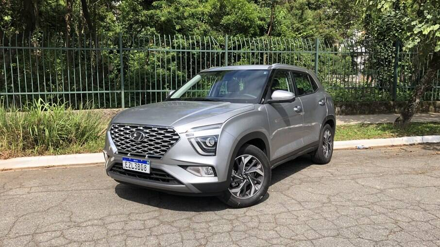 Hyundai Creta Platinum 1.0: visual recebeu mudanças em relação à versão coreana, mas continuou controverso
