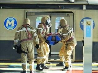 Preparação. Antes da Copa, equipes simularam reação em possíveis ataques terroristas no país