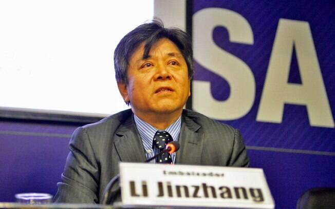 Li Jinzhang, o cônsul da China no Brasil