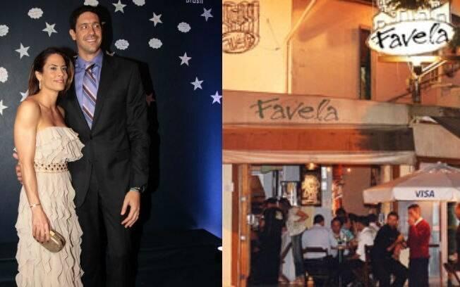 Gustavo Borges é um dos donos do bar Favela, em São Paulo