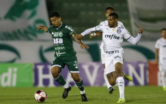 Guarani tropeça e leva virada do Palmeiras no Brinco