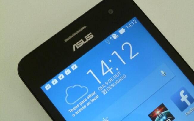 Zenfone 5 tem tela com resolução HD