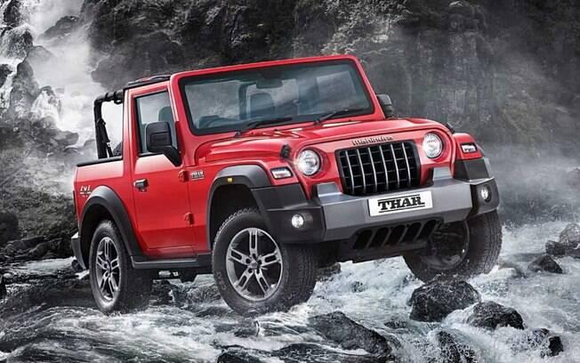 Mahindra Thar pode ser considerado um Jeep Wrangler em conta, para quem curte a proposta