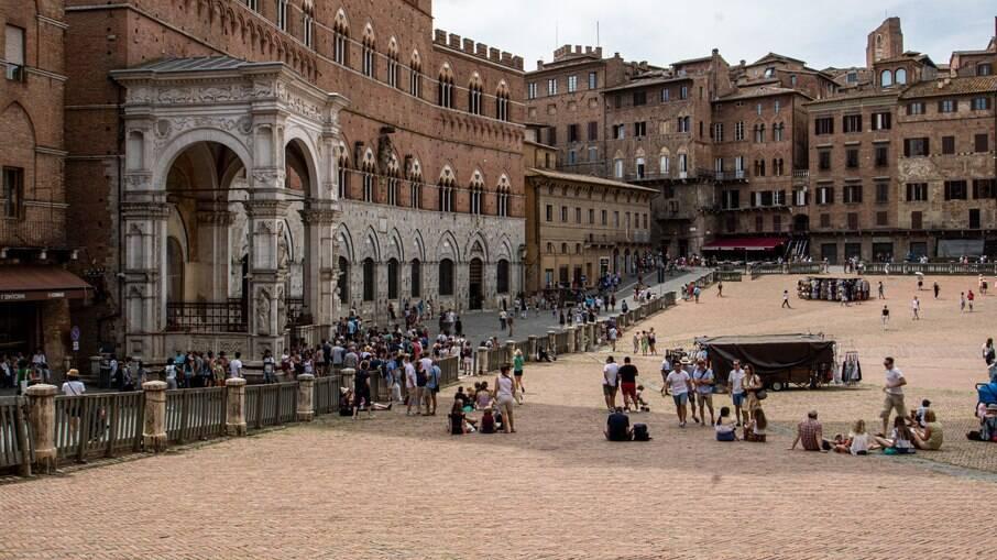 Siena, cidade medieval na Itália